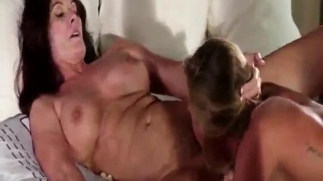 Tough lesbians scissoring
