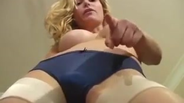 The blond gets you hard