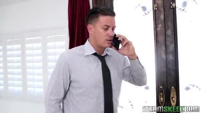 Babysitter Hollie Mack gets fucked