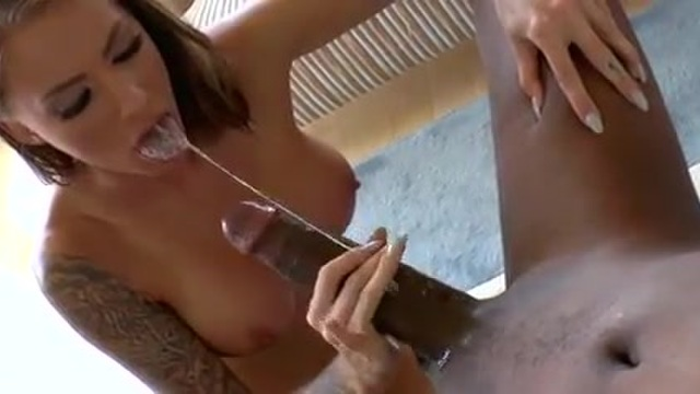 Anal with a gorgeous young tattooed beauty