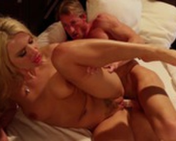 Blonde girl gets fucked by another guy A Blonde Guy And Girl Fuck Savagely Cumlouder Com
