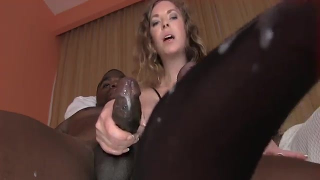 A Cock Milking Black