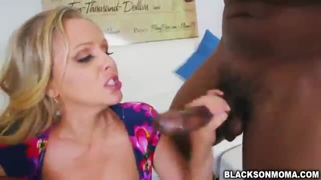 Sweet chick Julia Ann loves big cocks to fuck
