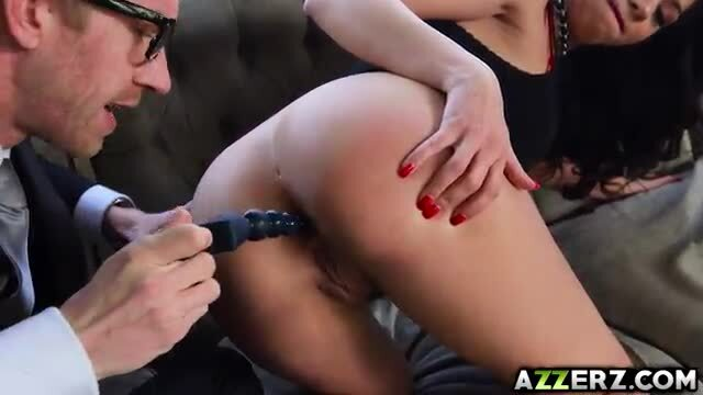 Julia De Lucia ass fucked by a horny doc