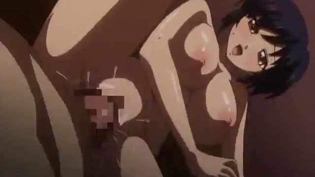 Hard hentai fuck ends up with a squirt