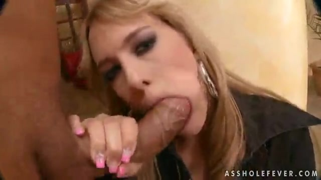 Blonde gets fucked hard