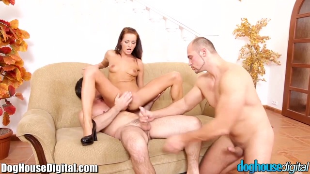 Two bisexual men and a slut