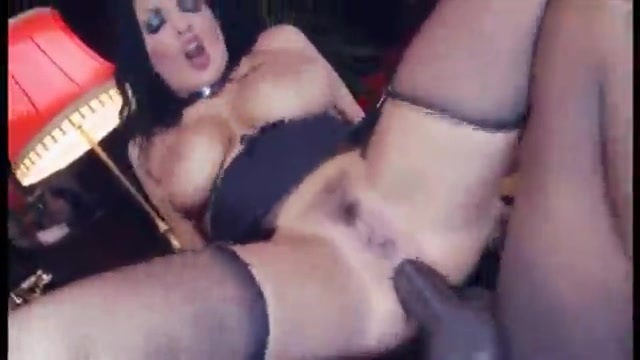 Voluptuous housemaid cleans a couple of dicks