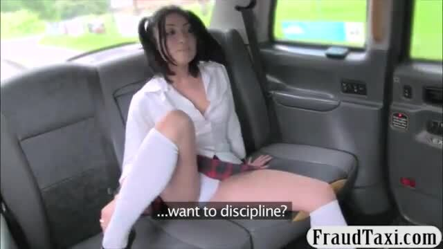 Schoolgirl drilled by perverted driver