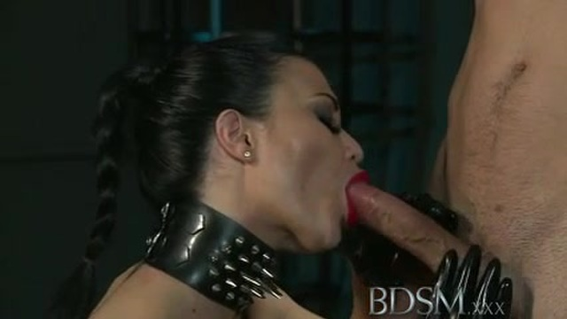 BDSM with a redhead and a stunning brunette