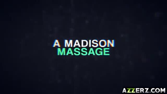Hot lesbian massage with August and Madison