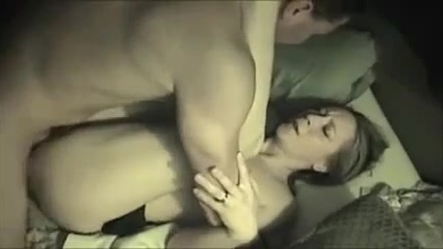 Amateur has fun with 2 friends