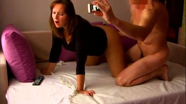 Milf enjoys being filmed