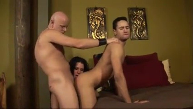 He ends up fucking the gay man and the slut too