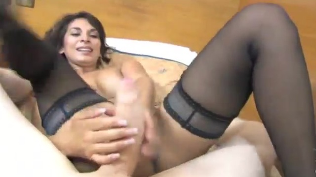 The Englishwoman wants some exotic cock
