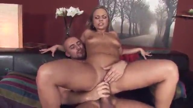 Latin blonde gets lubricated and fucked in the ass