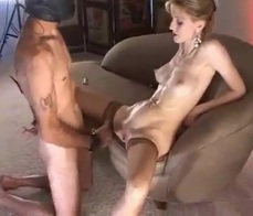 Fucking my slave with his hood on