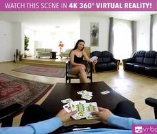Vr pornlucia denvile get penetrated in the back by a big cock