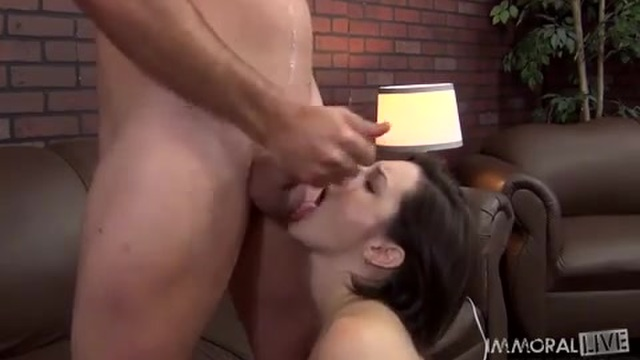 She was already horny and now she has a cock