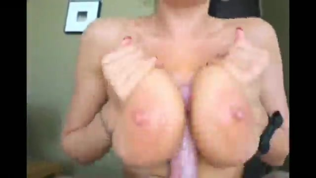 blowjob and tittyfuck with a stunning brunette