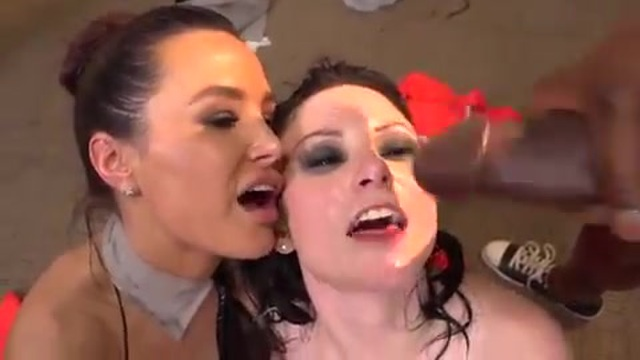 Prison orgy with Lisa Ann