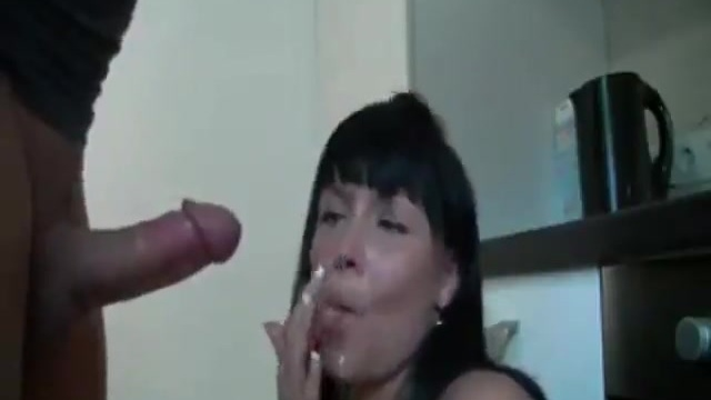 Homemade anal with a mature woman