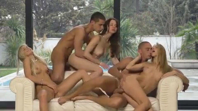 Group sex among friends
