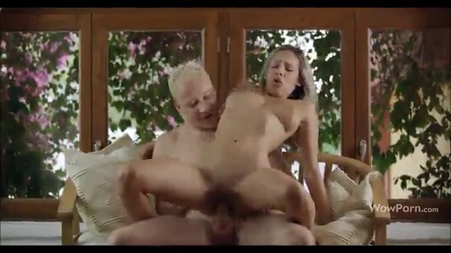 Romantic sex with a cute blonde