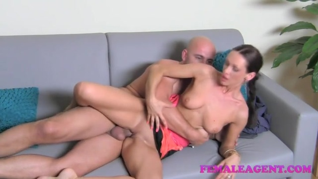 Bald in porn casting