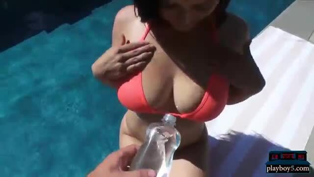 Big boobs amateur girlfriends sucking and fucking on camera