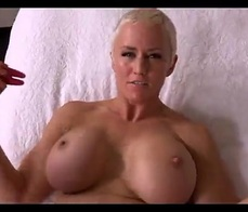 Real wife big boobs blowjob