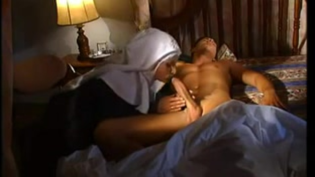 A little nun wants cock
