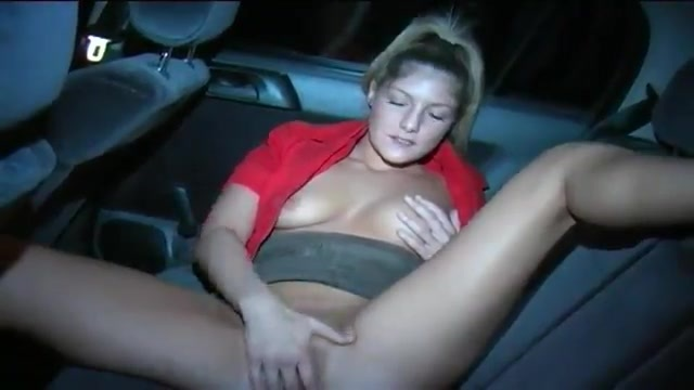 Fucked in the car with facial