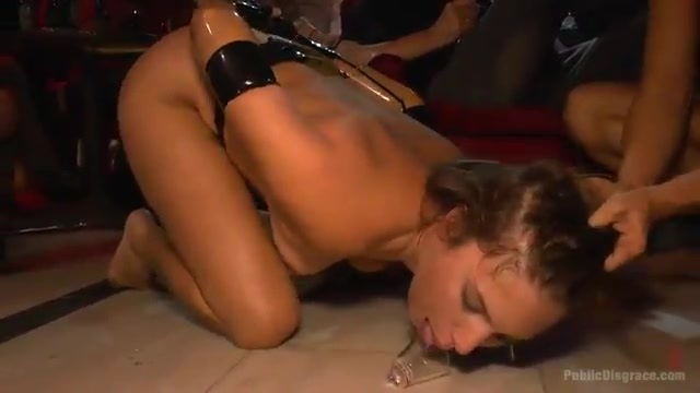 Dominated by her lesbian mistress