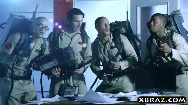 Ghostbuster parody where hot pornstars fuck in an orgy